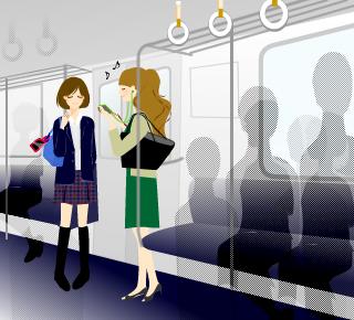 セコム第127回 防犯間違い探し電車内編女性の防犯防災対策